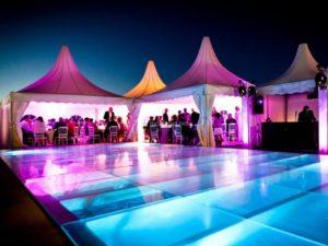 Location de tente, chapiteaux, barnum pour reception mariage dans le Vaucluse et les Bouches du Rhone.